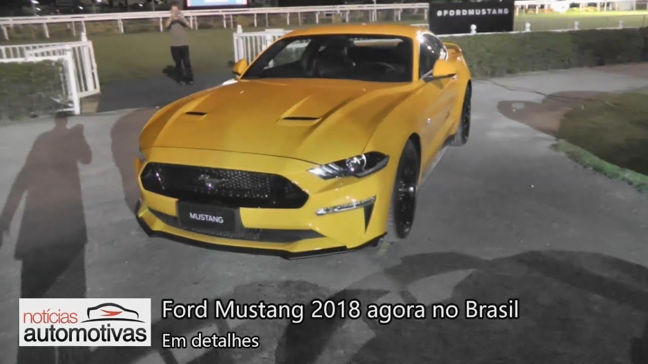 Ford Mustang 2018 No Brazil
