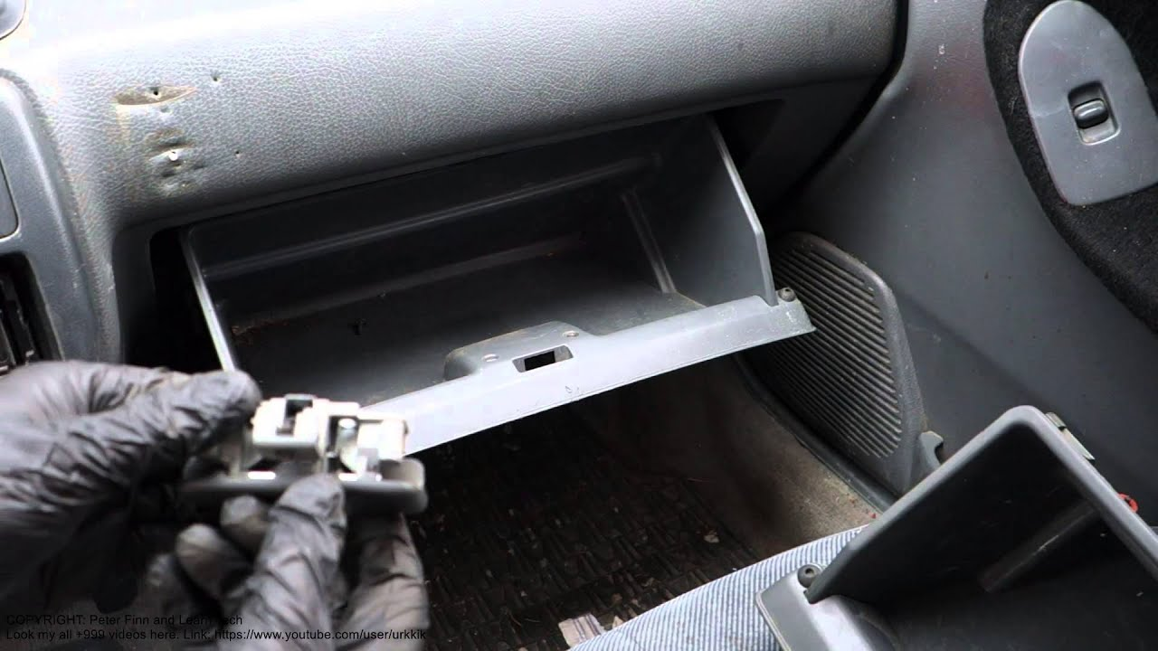 How To Replace Broken Glove Box Lock Honda Civic Years