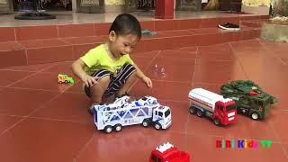 Mở Hộp Đồ Chơi Vui Nhộn ( Surprise Toy Box Opening ) ❤ BiBi Kids TV ❤