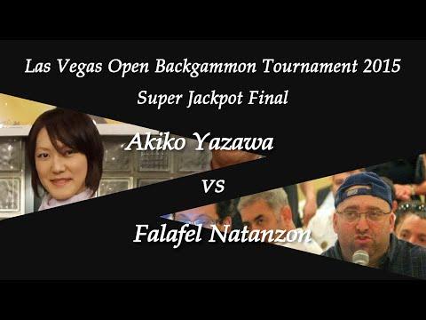 [Las Vegas Open 2015] SJP Final - Akiko Yazawa vs. Falafel