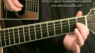 How To Play an Easy Guitar Version of Eric Clapton Ramblin