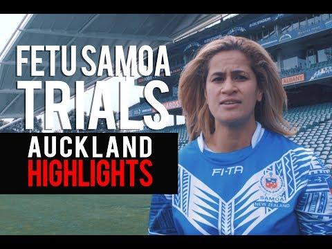 FETU SAMOA Womens League 9s Trial 25 11 17