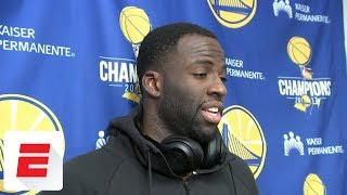Draymond Green sustains pelvic contusion, but doesn