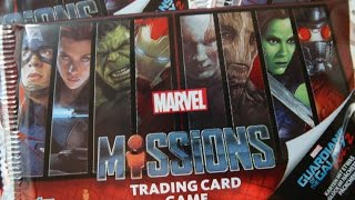 MARVEL Missions Trading Card Game Unboxing