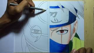 Obito And Kakashi-Naruto Shippuden Speed Drawing