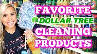 FAVORITE DOLLAR TREE CLEANING PRODUCTS