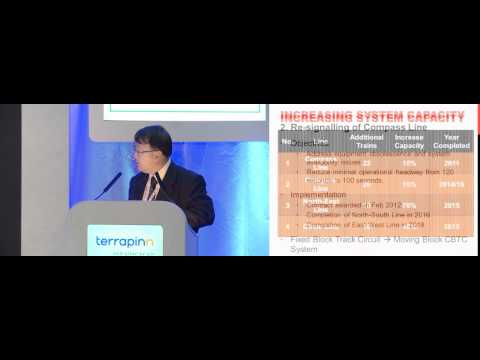 Chua Chong Kheng, Land Transport Authority Singapore discusses the metro rail industry