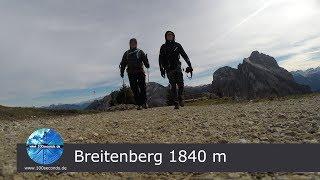 Bergwanderung Breitenberg mit Ostlerhtte von der Fallmhle aus