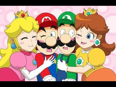 Mario Couples Tribute: Mario x Peach / Luigi x Daisy