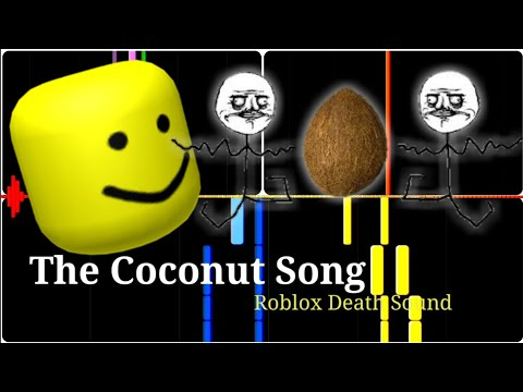 Moana Roblox Death Sound The Coconut Song But It Is Roblox Death Sound Youtube