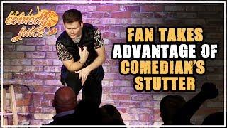 Fan Takes Advantage of Comedian s Stutter Drew Lynch Comedy Juice