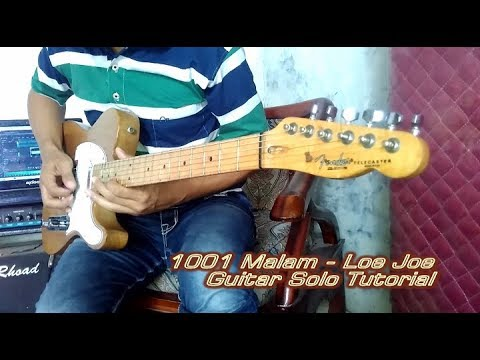 1001 Malam (Loe Joe) Guitar Solo Tutorial