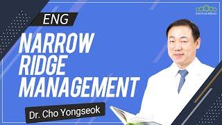 [ENG] Narrow Ridge Management Course. Part-1 [#Dentalbean]