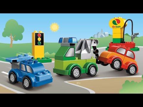 Мультфильм лего машины