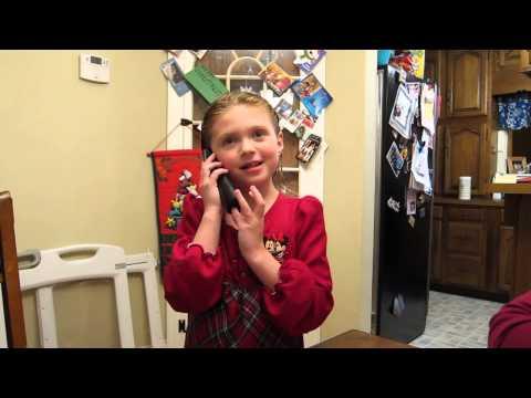 Maddie calls NORAD's Santa tracker