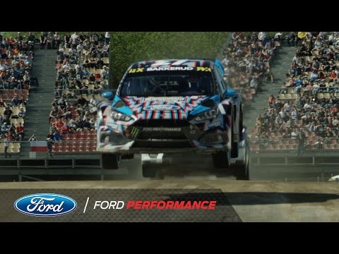 Ford Focus RS RX and Hoonigan Racing Take 3rd in Barcelona | FIA World Rallycross | Ford Performance