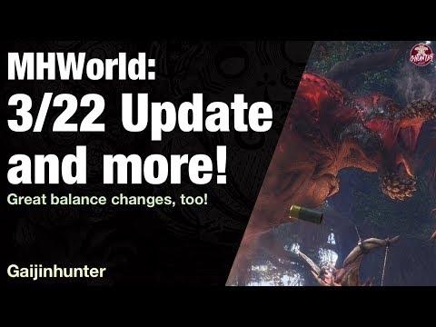 Monster Hunter World: 3/22 Update (Deviljho)