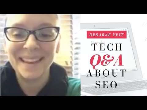 Technology Q&A for Small Business Owners about Search Engine Optimization (SEO)
