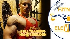 Pull Training im High5 Iserlohn + Postworkout Meal on the road