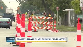 Here's an update on summer construction projects across metro Detroit