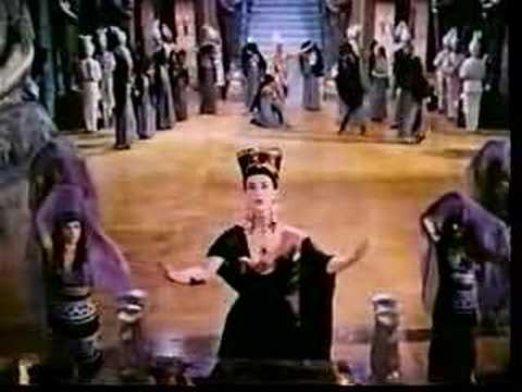 Aida 1951 Film with Sophia Loren and Lois Maxwell, END
