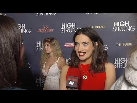"Anabel Kutay Interview ""High Strung"" Premiere"