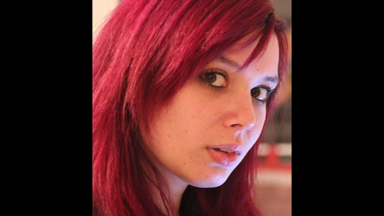 Dunkle haare pink tonen