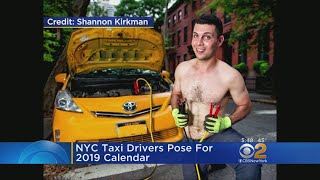 Cabbies Pose For 2019 NYC Taxi Calendar