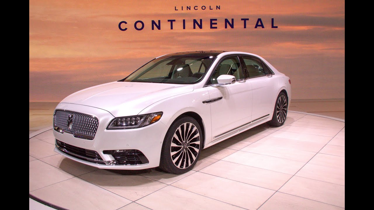 2016 Lincoln Continental (at Detroit Auto Show 2016 - NAIAS - North ...