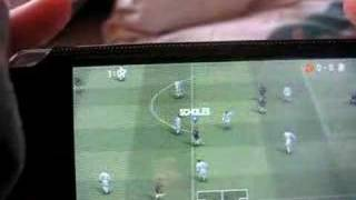 PSP Pro Evolution Soccer 08 GAMEPLAY [REVIEW](WINNINGELEVEN)