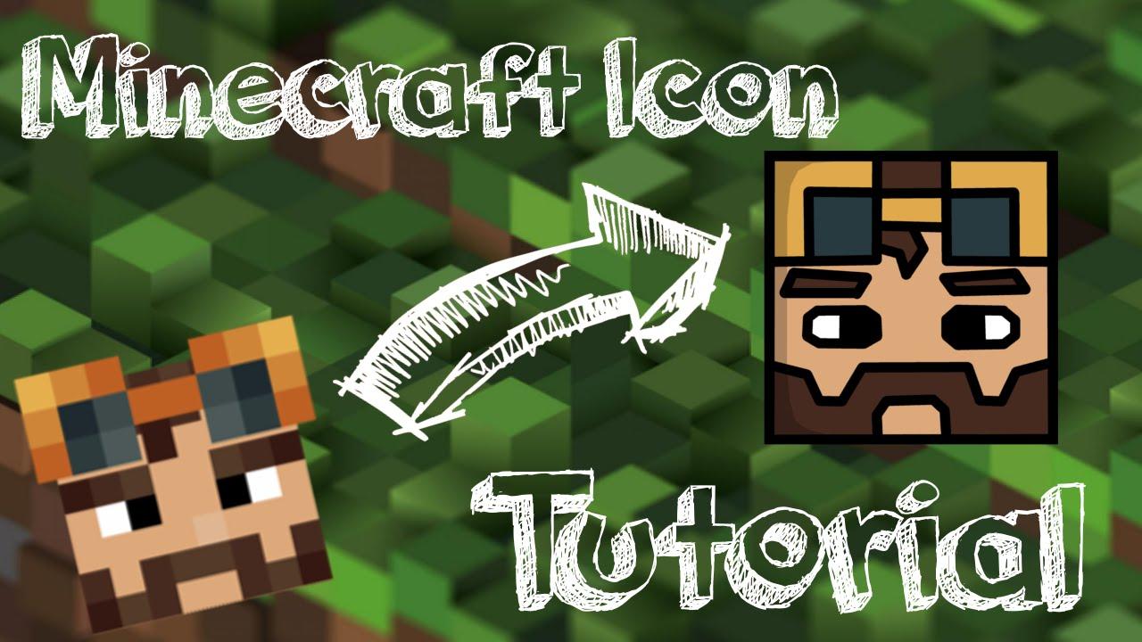 Tutorial Easy Minecraft Cartoon Icons GIMP FREE YouTube - Minecraft server icon erstellen gimp