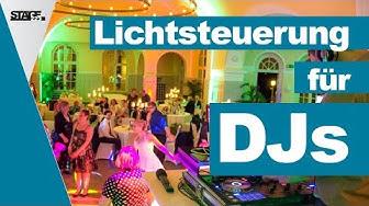Lichtsteuerung für DJs - Welche Lösung ist die Beste für mich? | stage.college