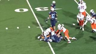 Nathan Guiley 2018 Football Highlights