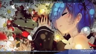 Nightcore - Impossible (Rock Version)