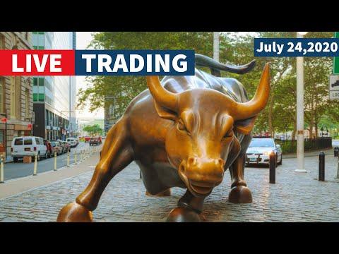 Watch Day Trading Live - July 24, NYSE & NASDAQ Stocks