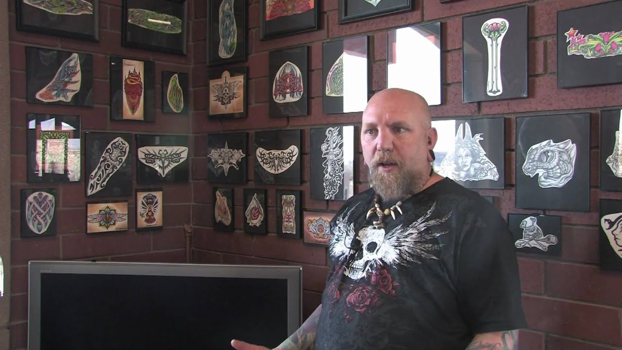 Designing Your Own Tattoo - YouTube