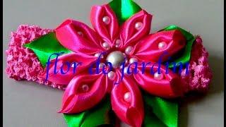 Novo modelo de flor super diferente- Passo a Passo – Flower tapes