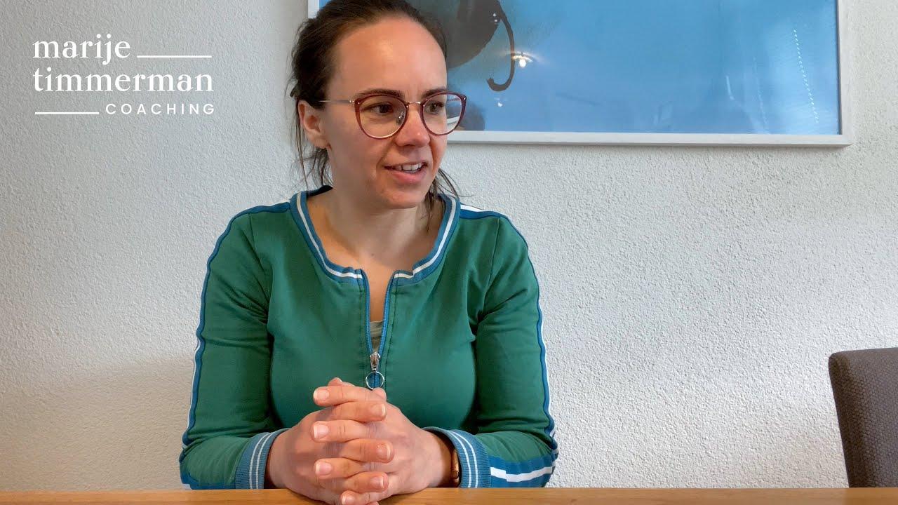 Marije Timmerman Coaching - aanbeveling Maike van Juf Maike