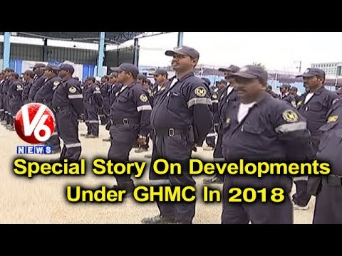 Special Story On Developments Under GHMC In 2018 | Hyderabad | V6 News
