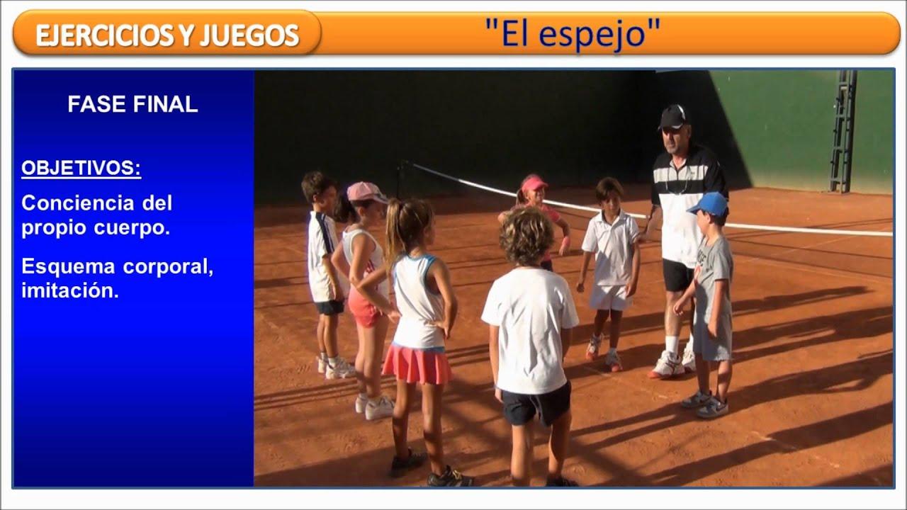 El espejo esquema corporal ejercicios y juegos de tenis for Espejo retrovisor para ninos