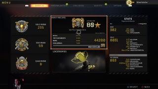 233+ solo wins - Blackout Live - old school cod player
