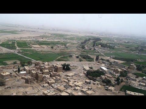 Landing at Sana'a, Yemen