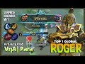 Anubis Maniac Gameplay with Aggressive Mode! VηA| Para Top 1 Global Roger ~ Mobile Legends