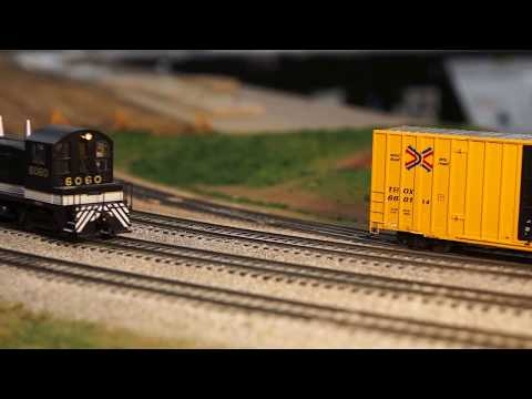 3 HO Southern Trains Switching