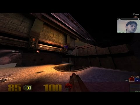 Quake 3 Arena || DM6 || Team Deathmatch || Dubstep Slow Mo Version