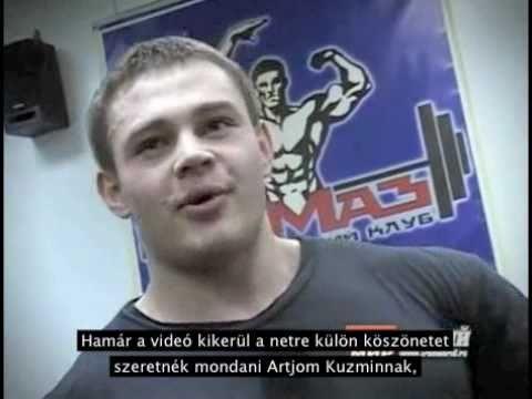 Alexey Lesukov - Felkészülés Az Arnold Classic-ra (feliratos)