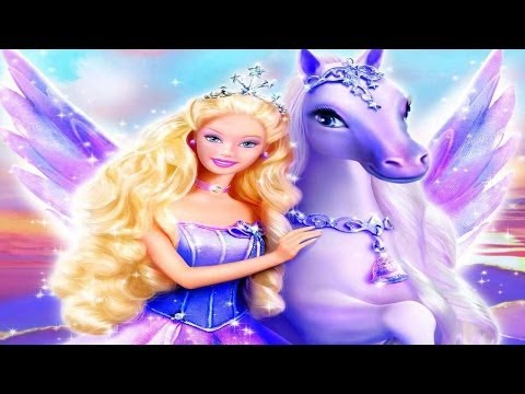 BARBIE and the Magic of Pegasus 3D - New FULL MOVIE GAME - Best Barbie Games