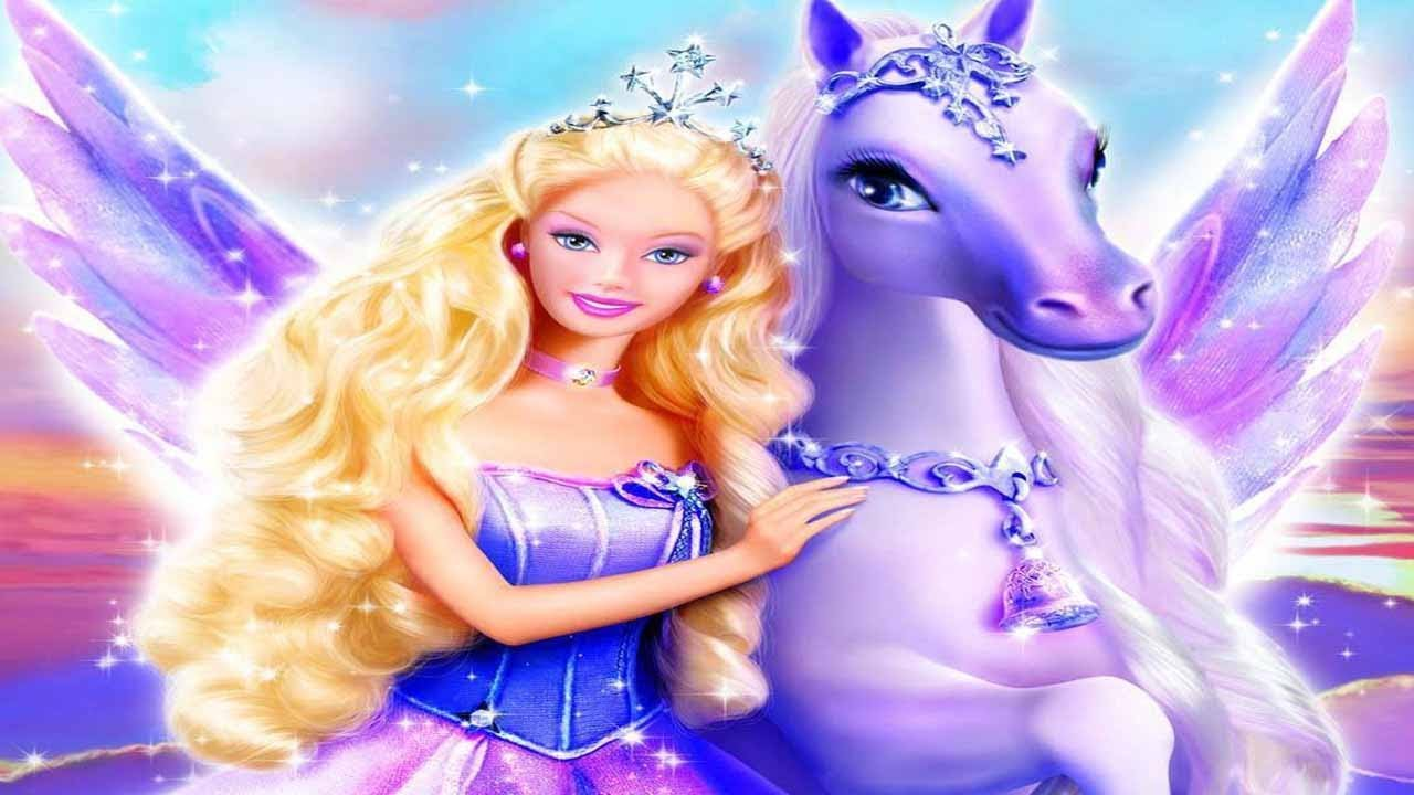 Korean Cartoon Girl Wallpaper Barbie And The Magic Of Pegasus 3d New Full Movie Game