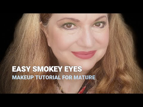 Easy Smokey Eye Makeup Tutorial for Mature Women