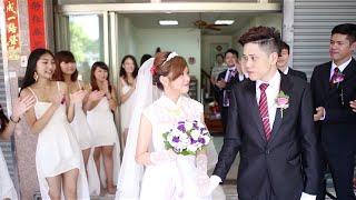 【婚錄】Allen & Kiki 婚禮影片 ├ 台中展華花園會館 (單人單機拍攝)